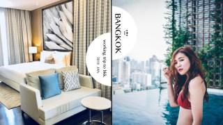 曼谷住宿|137 Pillars Suites & Residences。泰北風情無邊際泳池飯店