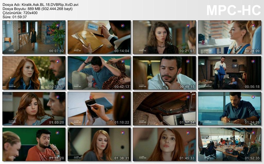 Kiralık Aşk 18.Bölüm DVBRip XviD - Tek Link