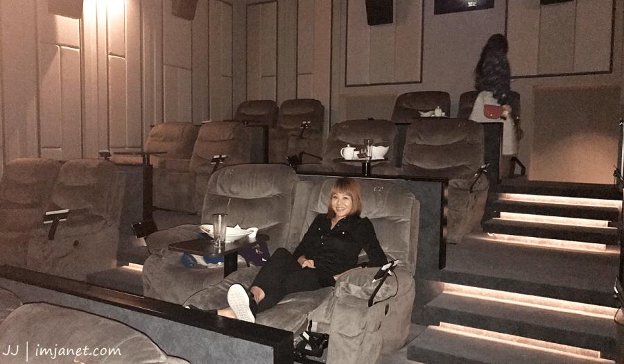 台北電影院推薦 大直美麗華皇家影城:五星級頭等艙寬敞沙發座椅,躺著看電影實在享受