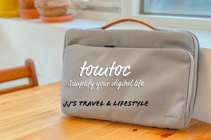 生活小物 Tomtoc 13吋筆電包開箱,MacBook適用