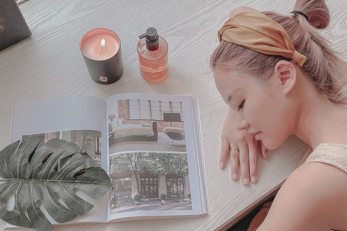 香氛|NOBLE ISLE大黃杜松香氛蠟燭,大黃杜松沐浴膠開箱