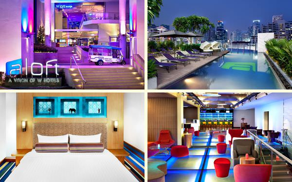 泰國‧曼谷》W hotel集團的年輕成員Aloft Bangkok CP值超高又適合年輕人 Sukhumvit 11巷