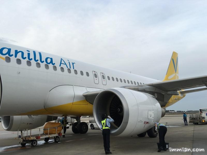香草航空 Vanilla Air,臺北飛東京 JW104 搭機初體驗,小小座位,無飛機餐,便宜就值得 - 巷子裡的生活