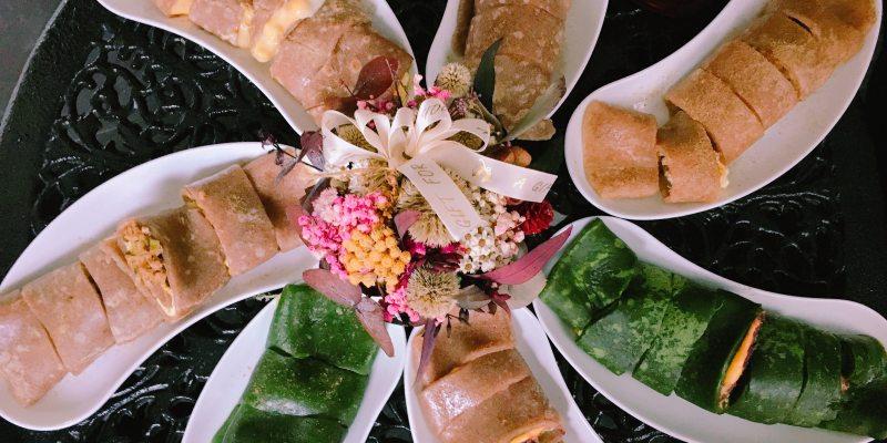 【高雄美食】快・慢拍小姐,視覺系小山園抹茶蛋餅,每日不同限量餅皮及創意內餡