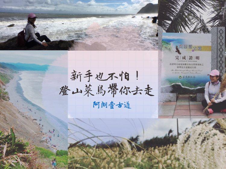 阿朗壹古道,絕美海岸線芒花海,海岸原始林生態紀實,我從台東走到屏東啦 !