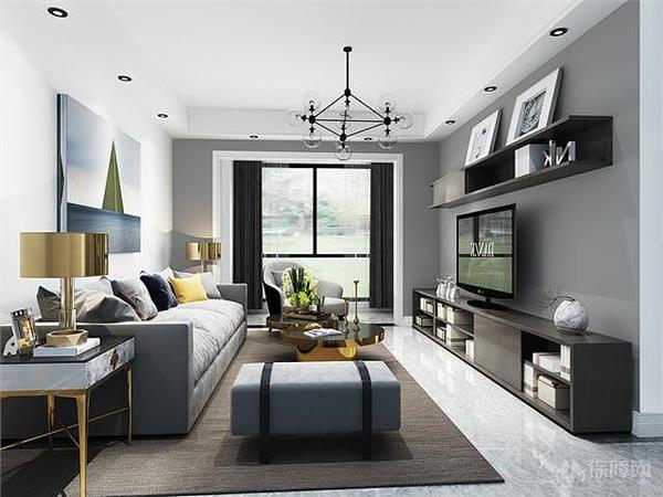 15款北歐風格的精美客廳及電視牆設計賞析 - 愛我窩