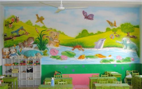 幼稚園牆壁畫設計的四個要點 怎樣的牆壁畫更吸引孩子 - 愛我窩