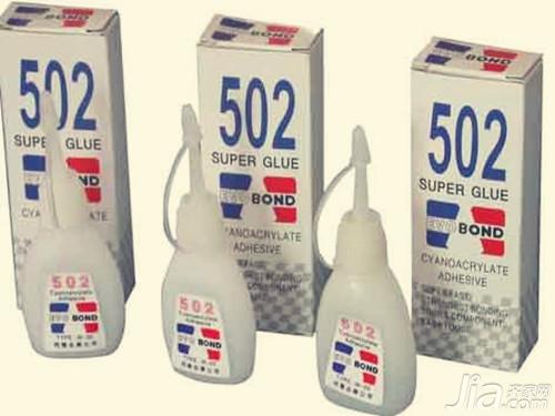 502膠水怎麼洗掉 清洗502膠水的方法介紹 - 愛我窩