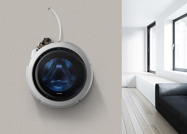 空調電視都有壁掛式,在韓國有184家電器專賣店,另外還有像是日常,現在壁掛洗衣機也來啦! - 愛我窩