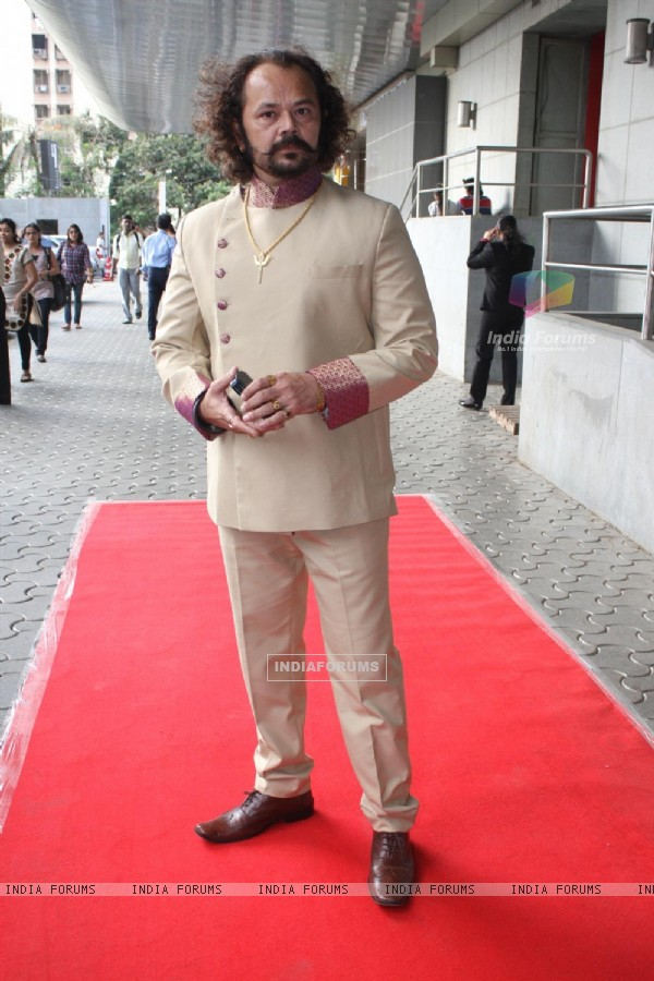 Raj Zutshi at COLORS Channel new show Madhubala...Ek Ishq, Ek Junoon premiere