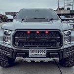 Ford Endeavour Everest Modified To Mimic Brawny Looks Of F 150 Raptor