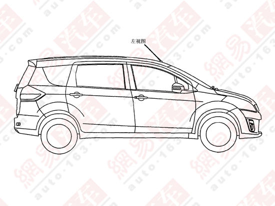 Maruti Suzuki Ertiga patent filed in China