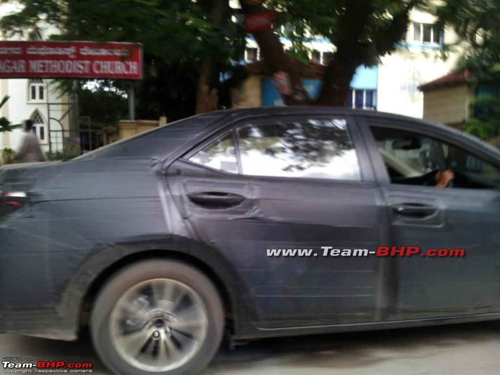 new corolla altis review team bhp all camry 2019 indonesia spied 2014 toyota caught testing in bangalore side
