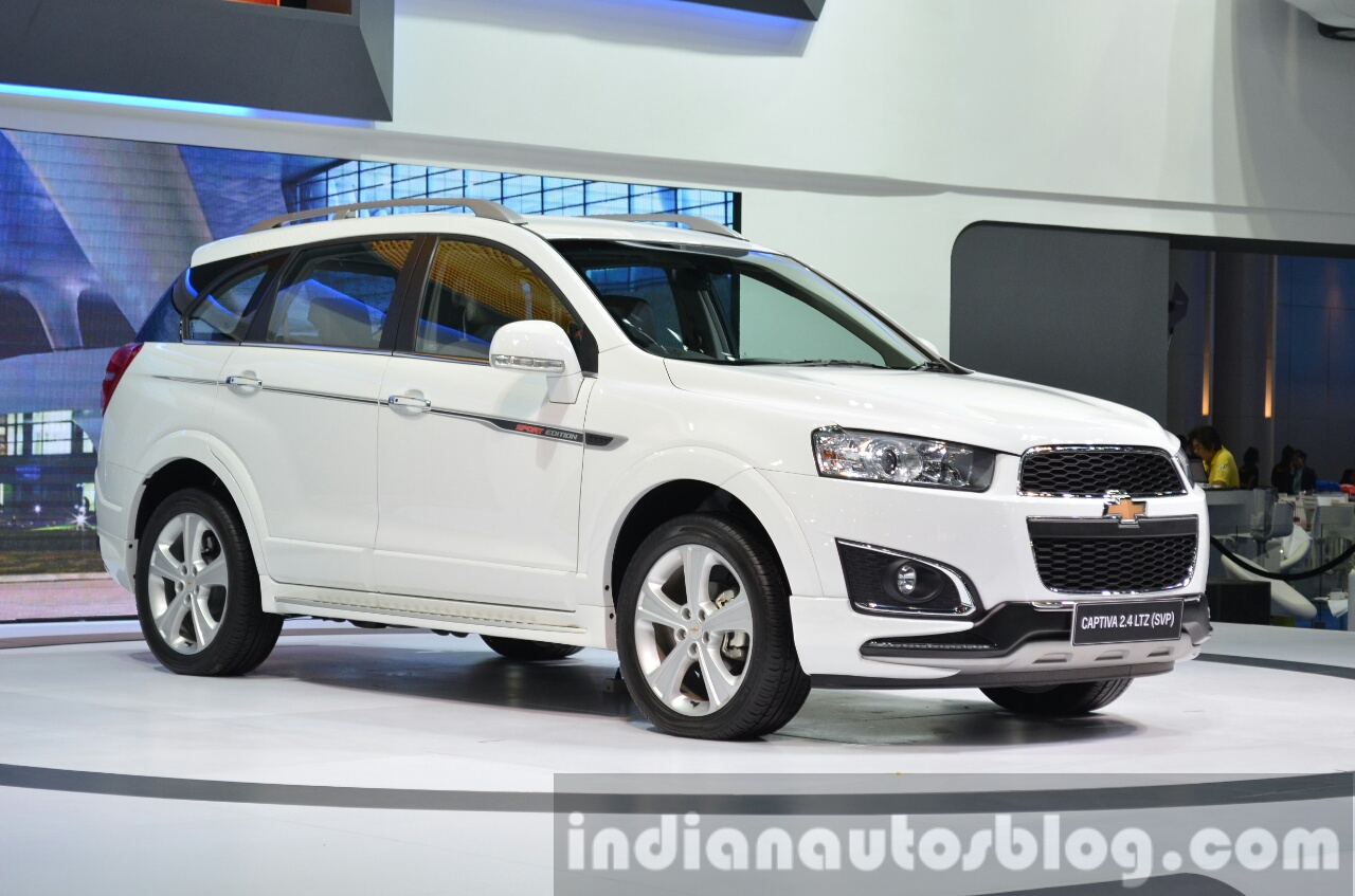 hight resolution of 2014 chevrolet captiva sport edition at the 2014 thailand motor expo white