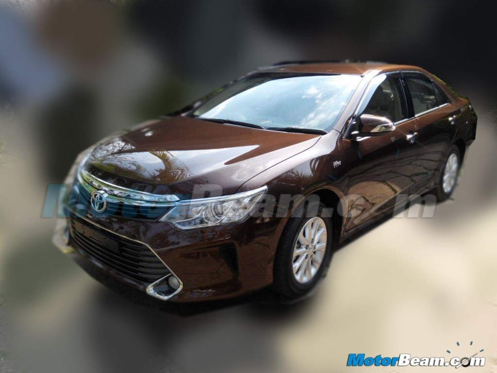 all new camry india launch oli transmisi grand avanza 2015 toyota facelift spied in may