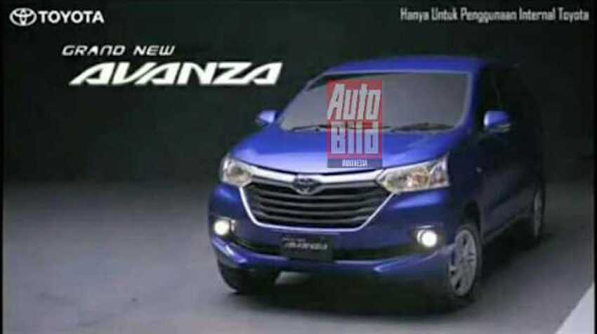 foto grand new avanza pakai pertamax 2015 toyota brochure shots leak front three quarter shot