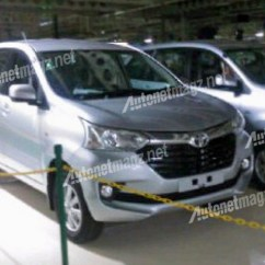 Grill Chrome Grand New Avanza Harga Innova Venturer 2017 2015 Toyota Facelift Spied Completely Undisguised