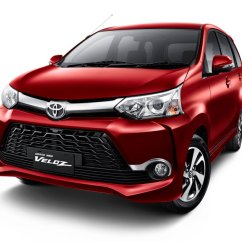 Grand New Avanza Veloz 1.5 Xe Toyota Launched In Indonesia 2015 Front Three Quarterpress Image