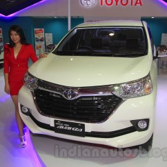 Grand New Toyota Avanza 2015 Vs Xpander Front Quarter At The Iims