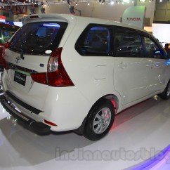 Grand New Avanza Veloz 1.5 Toyota And Iims 2015 Live Rear Three Quarter At The