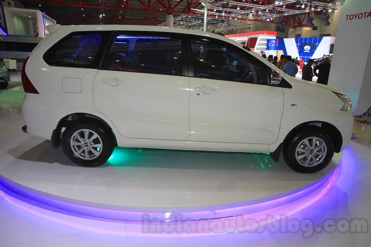 grand new avanza e 2015 bemper depan veloz toyota side at the iims