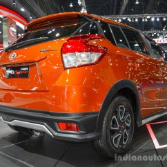 Toyota Yaris Trd Grand New Avanza G 1.5 Sportivo Rear Quarter At 2016 Bims