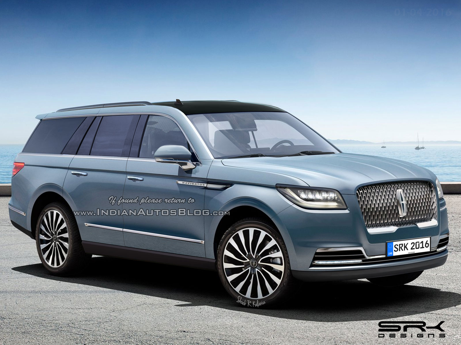 hight resolution of 2018 lincoln navigator render