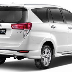 All New Kijang Innova Spec Forum Grand Avanza Toyota Crysta Launched With A Bodykit In Thailand Thai Rear Three Quarters