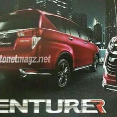 Innova New Venturer Cicilan Mobil Grand Avanza Toyota Rear Leaked