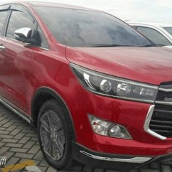 All New Innova Venturer Interior Grand Avanza Spesifikasi Toyota Exterior Photos Surface Wine Red Spy Shot