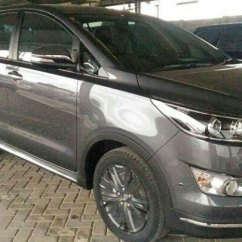 All New Innova Venturer 2017 Tank Cover Grand Avanza Toyota Interior Exterior Photos Surface Grey Spy Shot