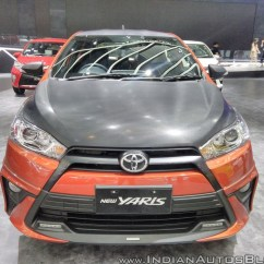 Toyota Yaris Trd Sportivo Specs Grand New Avanza Vs Honda Mobilio Front At Giias 2017