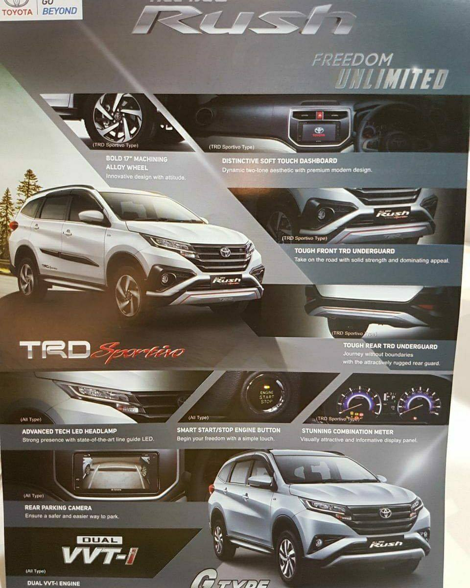 all new camry 2019 indonesia review grand avanza 2016 interior of 2018 toyota rush leaked [update]