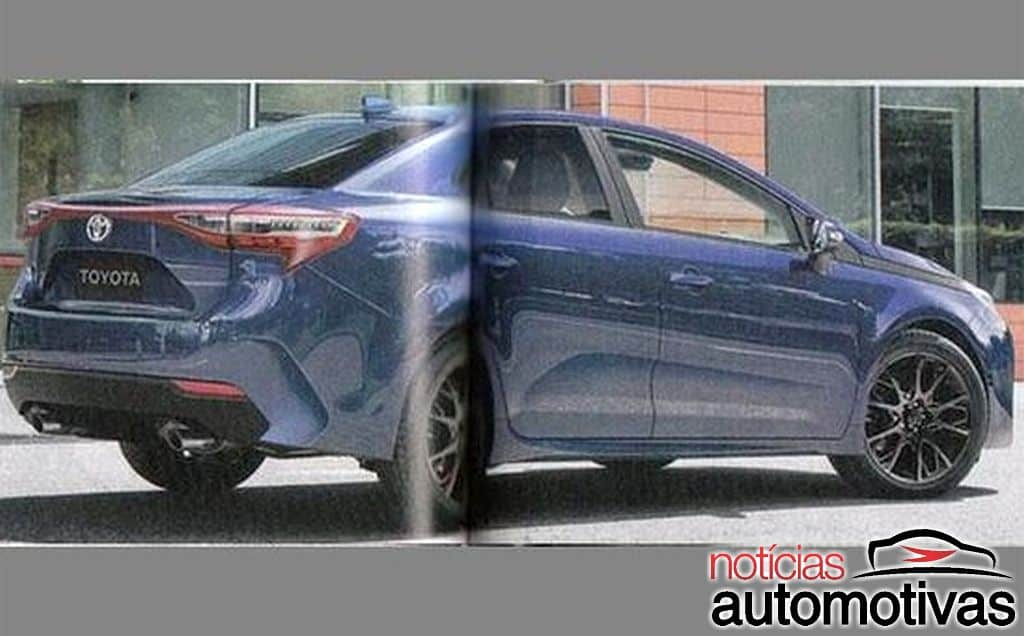 all new corolla altis 2019 stop lamp grand avanza next gen toyota rendered by japanese media rendering rear three quarters