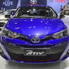 Toyota Yaris Ativ Trd Perbedaan Grand New Avanza 1.3 Dan 1.5 S Front At 2017 Thai Motor Expo