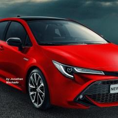 All New Corolla Altis Konsumsi Bbm Grand Veloz 1.3 Next Gen 2019 Toyota Sedan Imagined Red Rendering