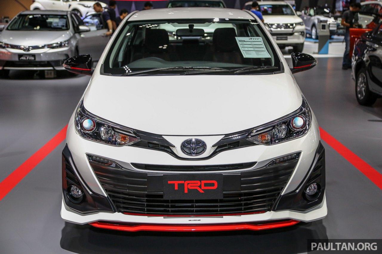 toyota yaris trd india brand new camry 2016 price ativ front