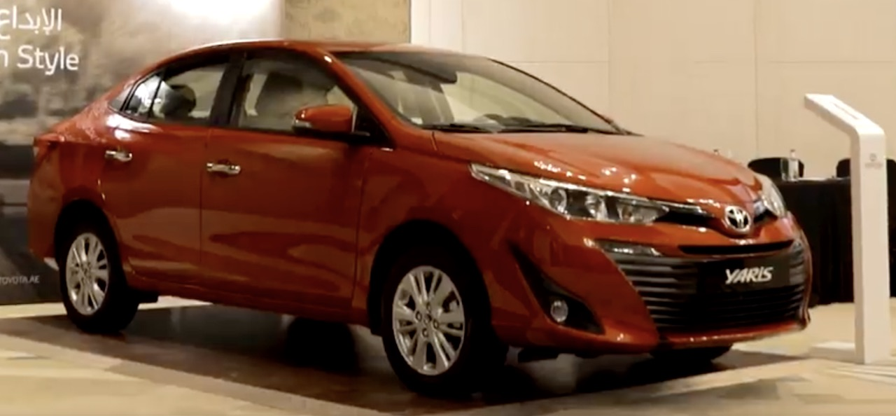 toyota yaris trd uae all new kijang innova type q india bound 1 5l petrol launched in the delivers sedan launch