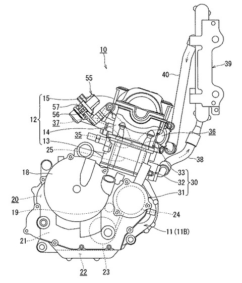Suzuki Gixxer 250 engine patent images leaked; Launch in