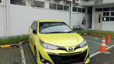 toyota yaris trd sportivo 2018 price all new kijang innova semisena facelift spied completely undisguised image gallery spy shots