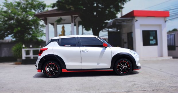 Custom 2018 Suzuki Swift with Zercon body kit from Thailand