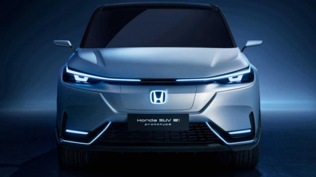 Honda Suv E prototype front