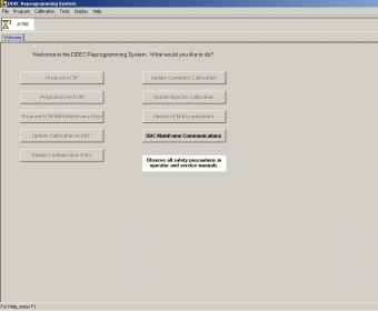 Detroit Diesel DDEC Reprogramming System 6.2 Download