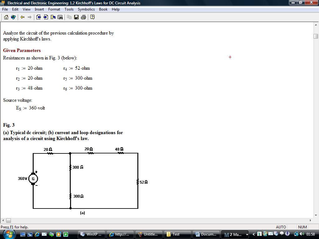 Mathcad Mechanical Engineering Library 14 Watteita