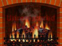 3d realistic fireplace screensaver 3.7 : anoped