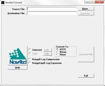 NovAtel Convert Download (Convert.exe)
