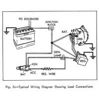 Delco Alternator 3 Wire Plug Wiring Diagram Externally
