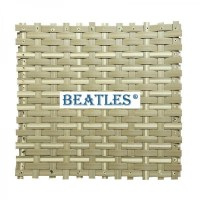 Synthetic woven ceiling mat for walls and ceiling ...