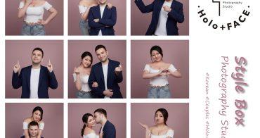 Holo+FACE韓式情侶九宮格/輕婚紗推薦~超韓超可愛的小資族婚紗攝影首選
