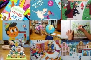 10月書單:音樂音效書,硬頁書,美術書, 貼紙書,遊戲書盒|英國Little Brian無毒可洗兒童水彩棒